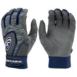 Rawlings 5150 Adult Baseball/Softball Batting Gloves - Navy