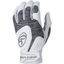 Rawlings 5150 Batting Gloves 5150WBG - White - M