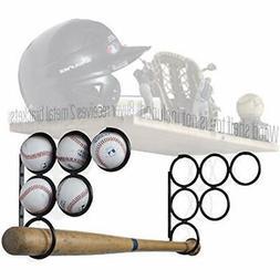 Baseball Brackets Softball Bat Rack - Sports Accessories Woo