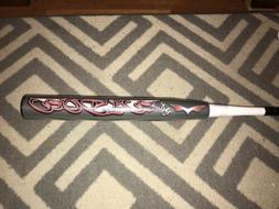 Monsta Black Widow 25oz. ASA Slowpitch Softball Bat - Stiff