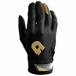 DeMarini CF Men's Baseball/Softball Batting Gloves - Black -