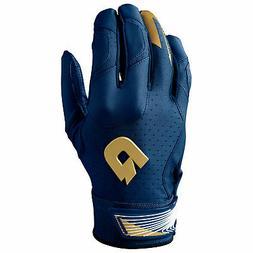 DeMarini CF Youth Baseball/Softball Batting Gloves - Navy -