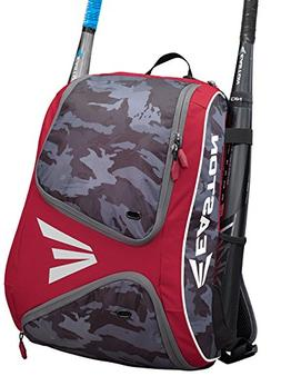 Easton E110BP Red / Camo Bat Pack Backpack Equipment Bag Bas