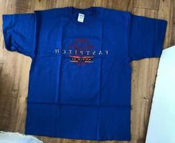 Fastpitch Miken Softball Bats T-shirt Blue Size X-Large New