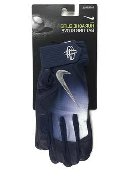 NIKE Huarache Elite Batting Gloves Adult Small Navy Blue Bas
