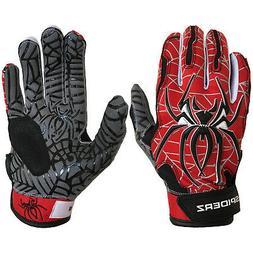 Spiderz Hybrid Custom Men's Baseball/Softball Batting Gloves