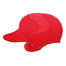 ID 1589A Batting Helmet Patch Baseball Softball Bat Embroide