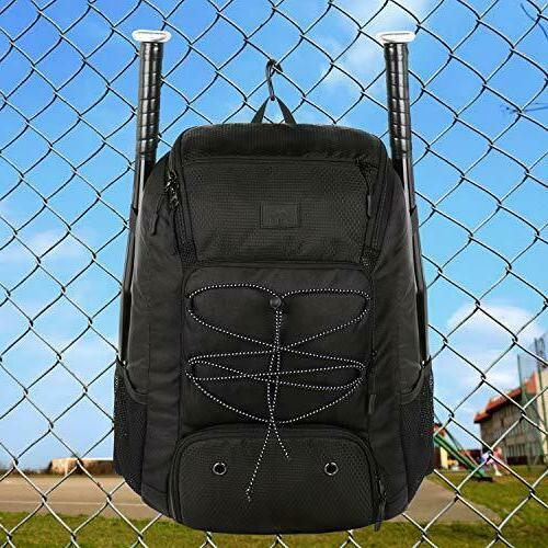 MATEIN Baseball Backpack, Softball Bat Compartment Youth, Boy