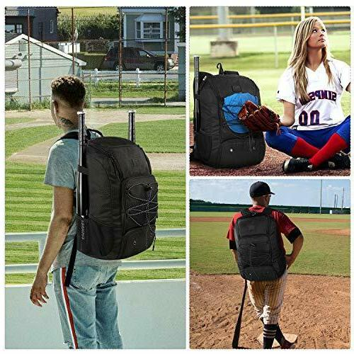 MATEIN Backpack, Bat Compartment
