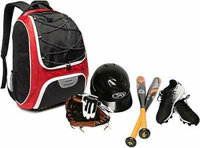 Baseball Backpack Youth and Adults, Softball Bat with Sh