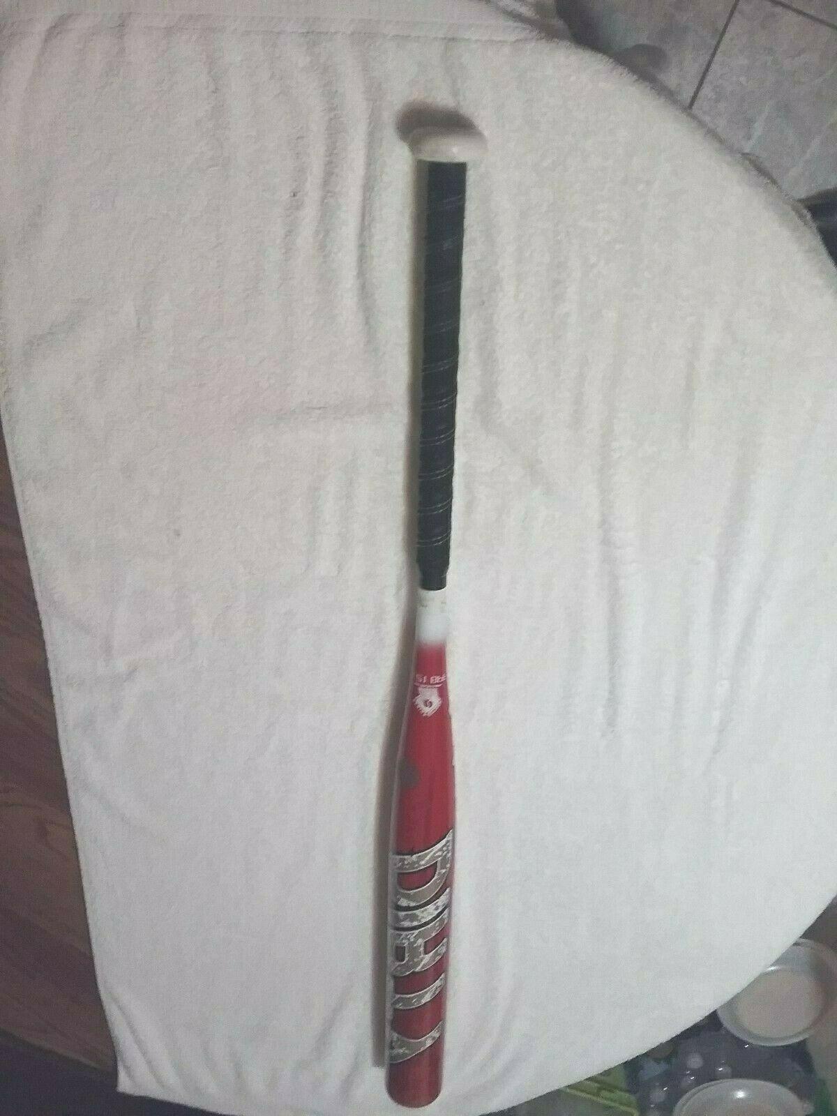 dirty senior softball bat balanced 34 27