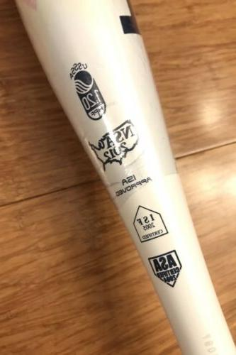 Rawlings Hombre Fastpitch Softball Bat 28in -11 FP8011 USSSA