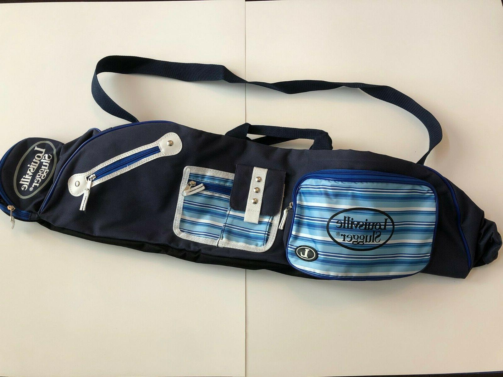 new blue kozmo baseball softball bat bag