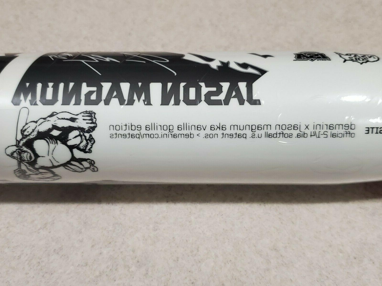 New Vanilla USSSA Softball Bat Jason Magnum