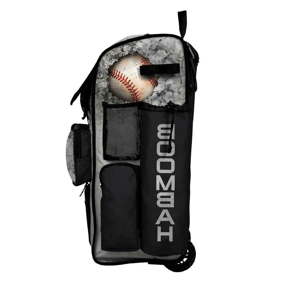Boombah Superpack Wheeled Baseball/Softball Bag Pack - Crusher