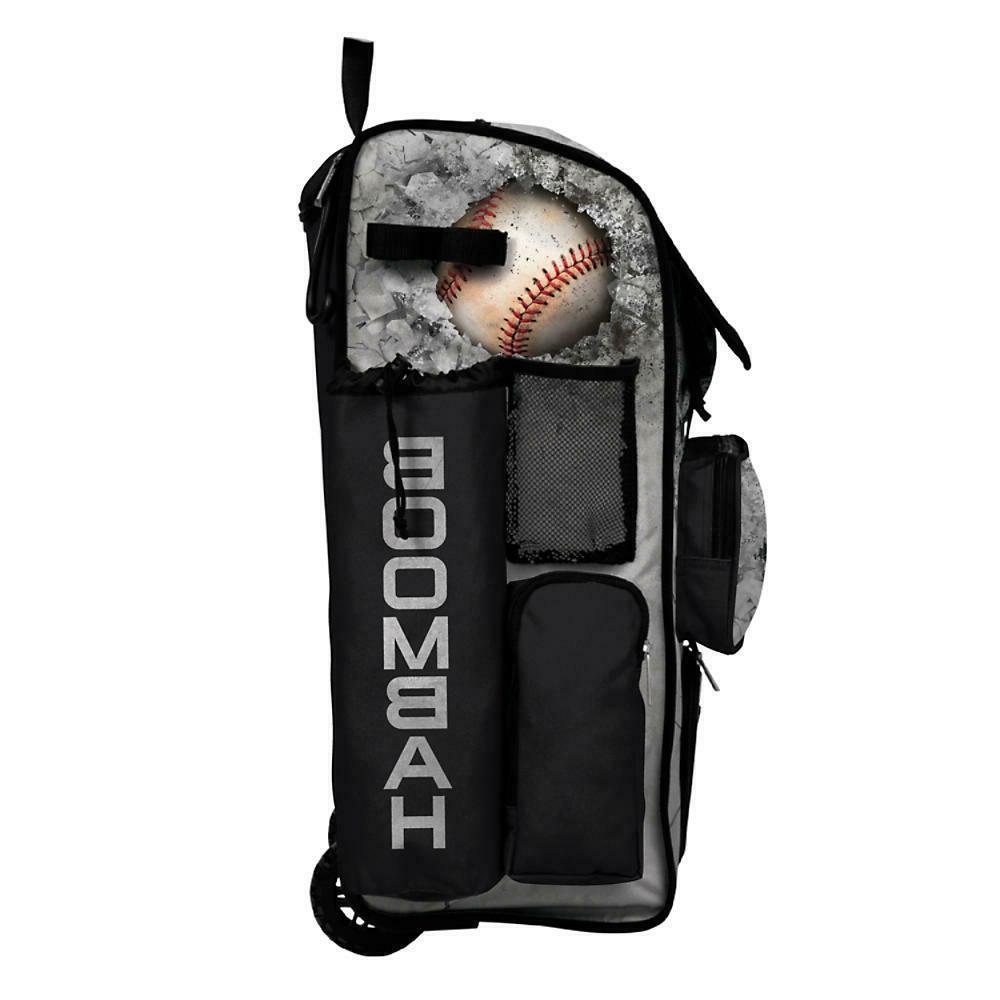 Boombah Superpack 2.0 Wheeled Baseball/Softball Bat Bag Pack Crusher