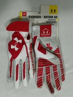 Under Armour Motive Softball Batting Gloves Size S Women's R