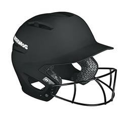 DeMarini Paradox Batting Helmet with Softball Protective Mas