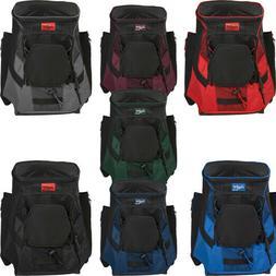 Rawlings R600 Equipment Backpack - R600-B Baseball & Softbal