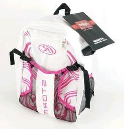 Rawlings Storm Girls Pink/White Softball Backpack Batting Ba