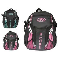 NEW Girls Rawlings Storm T-Ball Backpack - Black & Pink - Ba