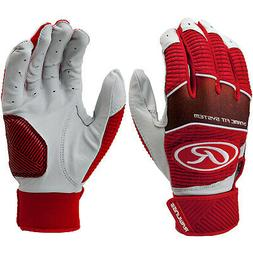 Rawlings Workhorse Adult Baseball/Softball Batting Gloves -